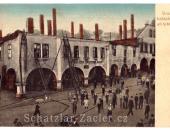 Požár na náměstí 9. května 1914